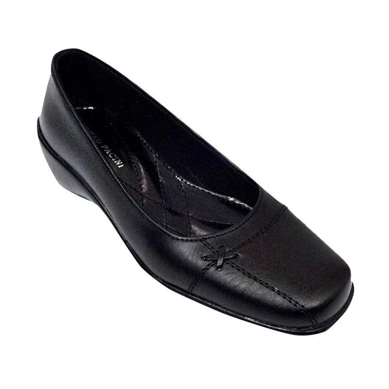 Romeo Pacini Pantofel V 207 Hitam Sepatu Wanita
