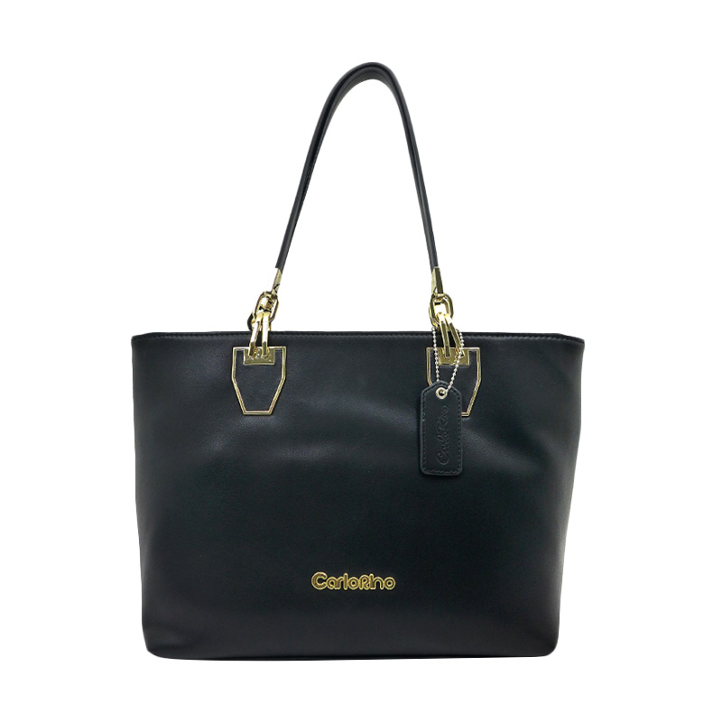Carlo Rino Alice Tote Bag - Black