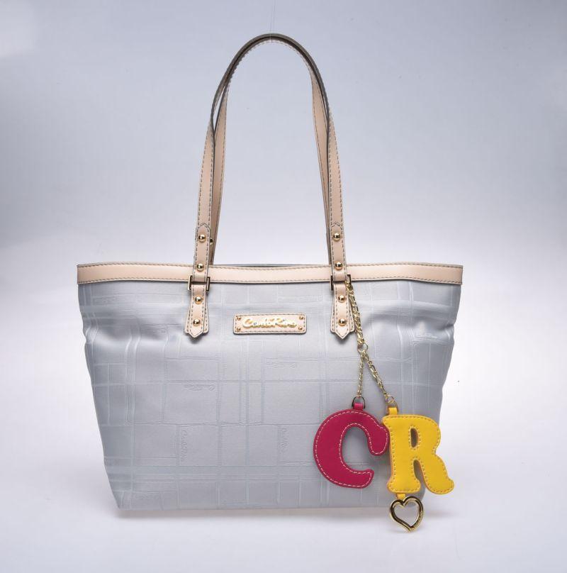 Carlo Rino Annie Blue Tote Bag