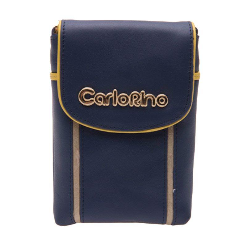 Carlo Rino Celena Blue Sling Mobile Pouch