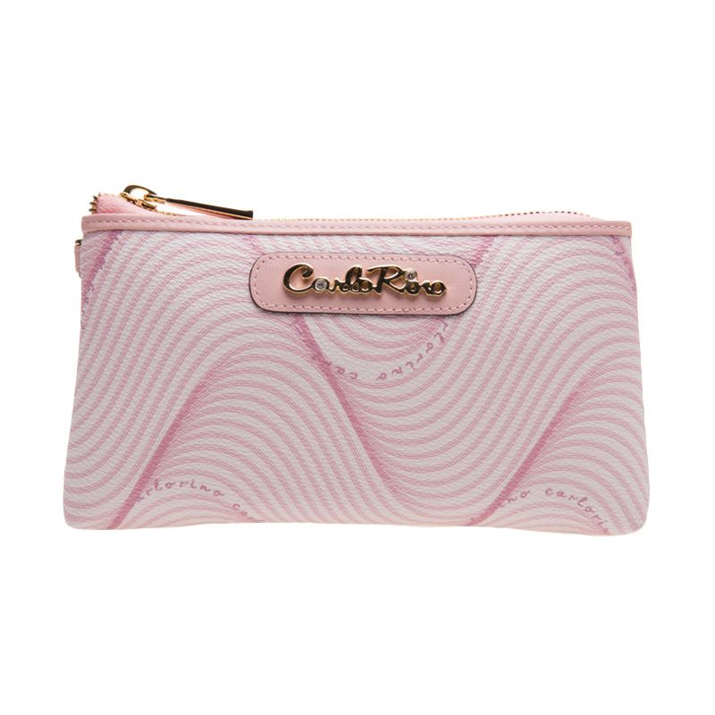 Carlo Rino Estelle Pouch Pink Dompet