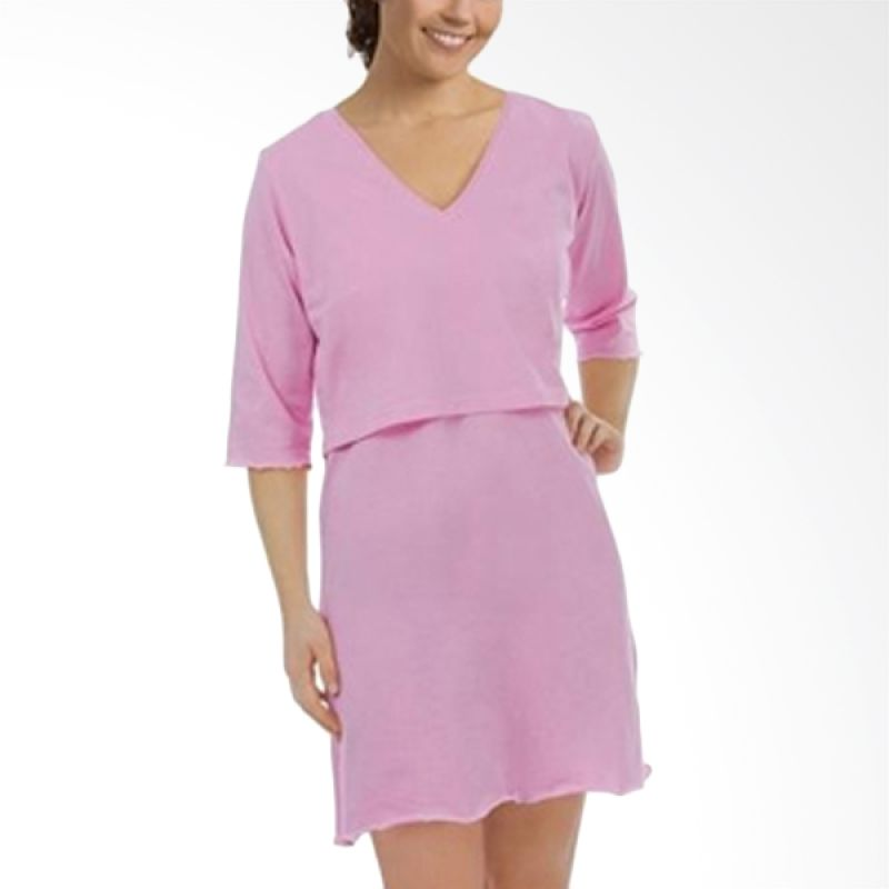 Carriwell Sarah Sleep Shirt Light Pink