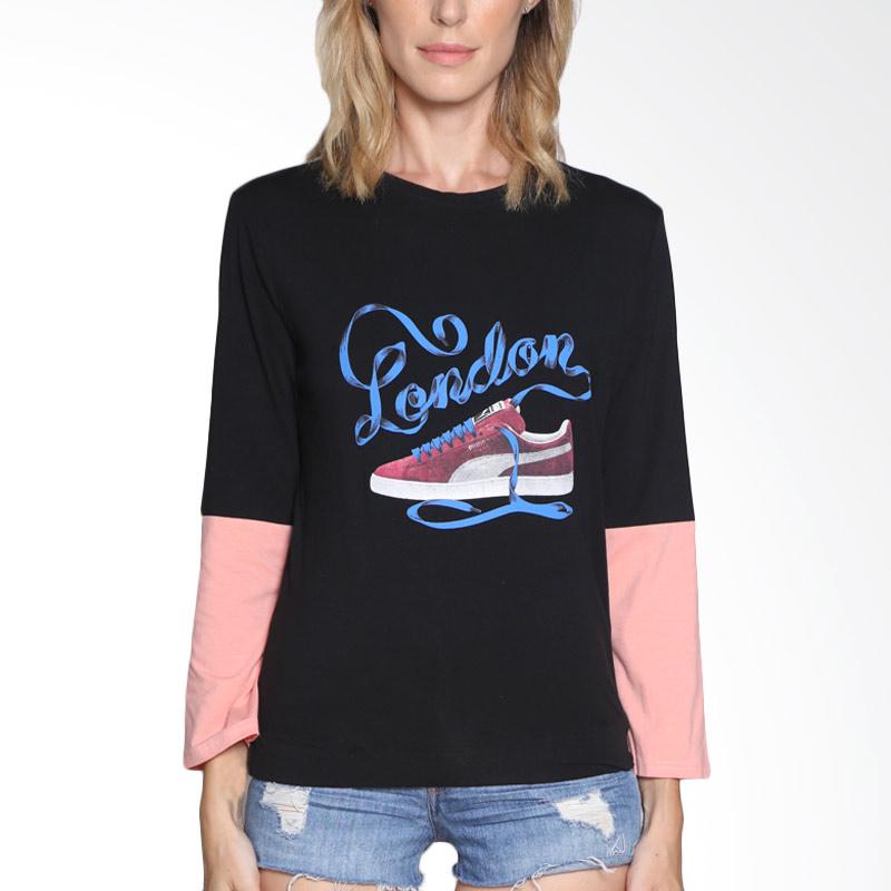 Carte Casual shirt London Atasan Wanita - Black