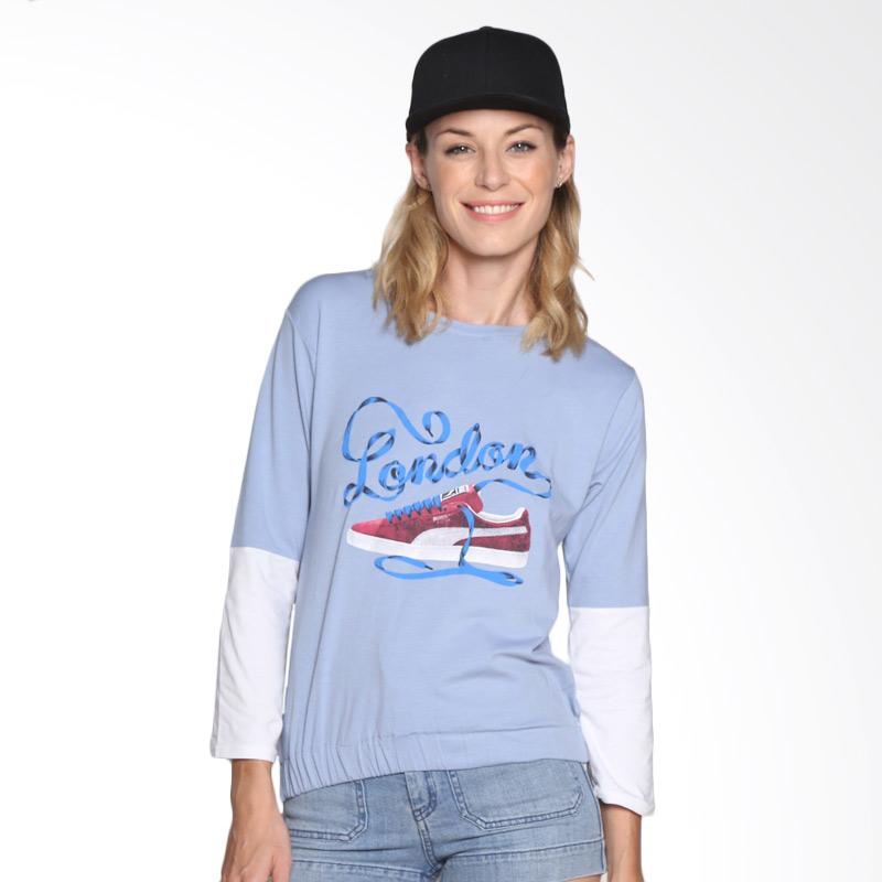 Carte Casual shirt London Atasan Wanita - Blue