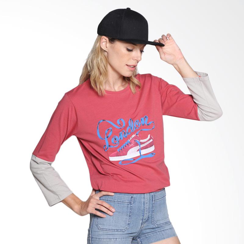 Carte Casual shirt London Atasan Wanita - Light Red