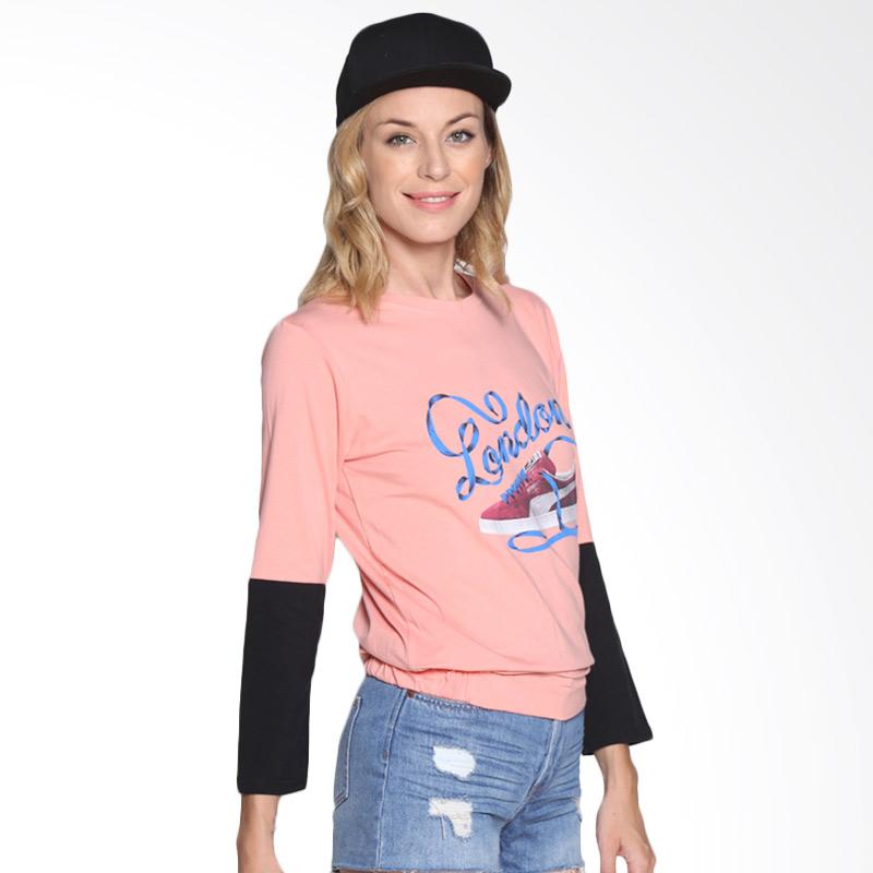 Carte Casual shirt London Atasan Wanita - Peach