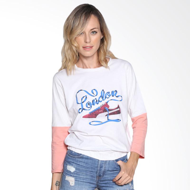 Carte Casual shirt London Atasan Wanita - White
