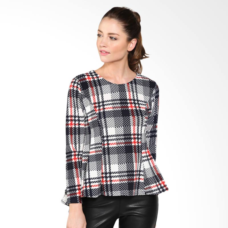 Carte Lady British checkered Top