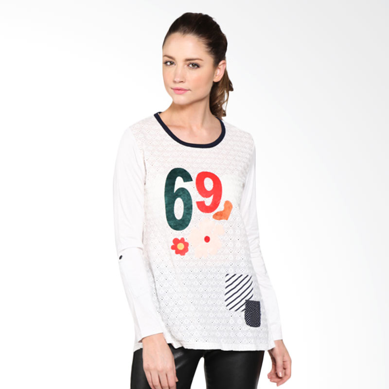 Carte Lady Numbers Textured Top