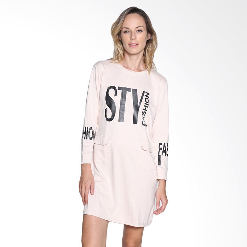 Carte Sty Shirt Dress - Blush