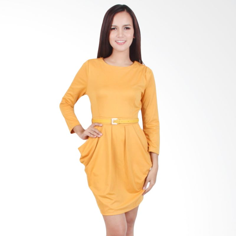 Carte Yellow Mustard Kelly Dress