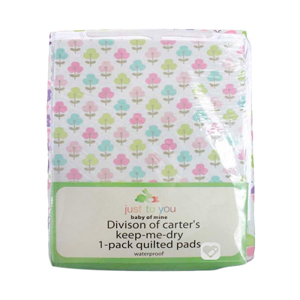 Carter Just To You Baby Quilted Pad Waterproof Flower