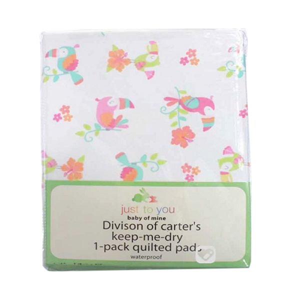Carter Just To You Baby Quilted Pad Waterproof Parrot