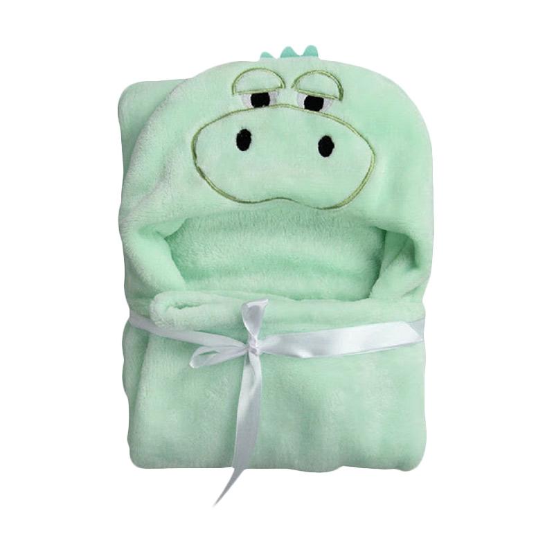 Carter'S Fluffy Coral Fleece Hippo Blanket