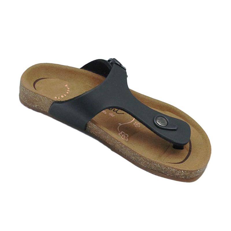 harga Carvil Footbed Khanza Sandal Wanita - 02 Black Blibli.com