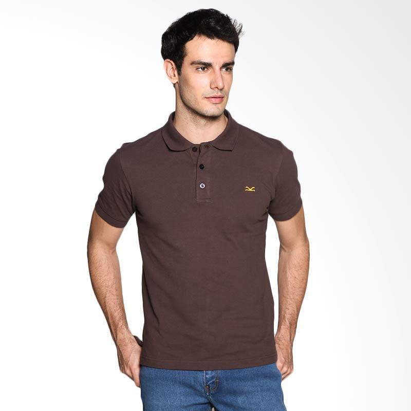 Carvil Man BRO-13B Polo Shirt - Brown Extra diskon 7% setiap hari Extra diskon 5% setiap hari Citibank – lebih hemat 10%