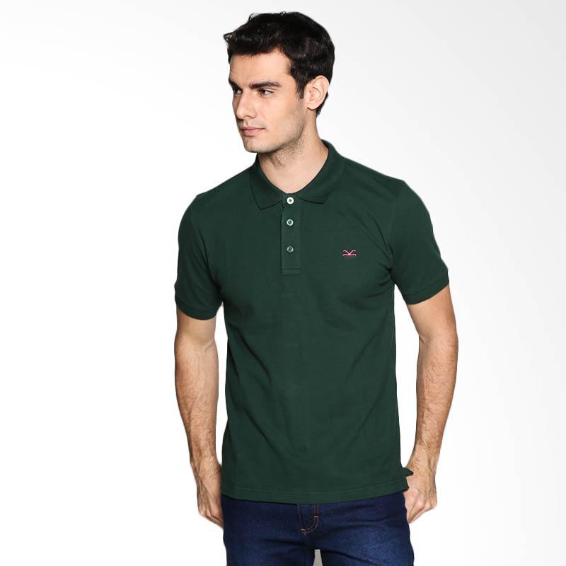 Carvil Man GRN-24B Polo Shirt - Dark Green Extra diskon 7% setiap hari Extra diskon 5% setiap hari Citibank – lebih hemat 10%