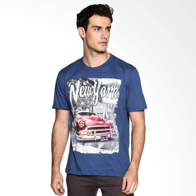 Carvil Man NYK 02 T-Shirt - Dark Blue Extra diskon 7% setiap hari Extra diskon 5% setiap hari Citibank – lebih hemat 10%