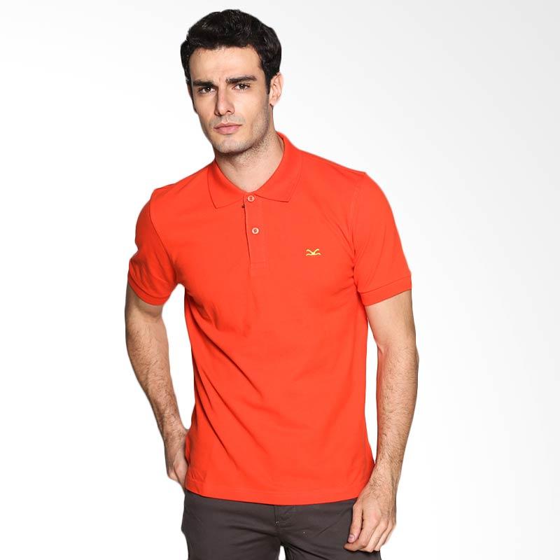 Carvil Man ORA-01A Polo Shirt - Orange Extra diskon 7% setiap hari Extra diskon 5% setiap hari Citibank – lebih hemat 10%