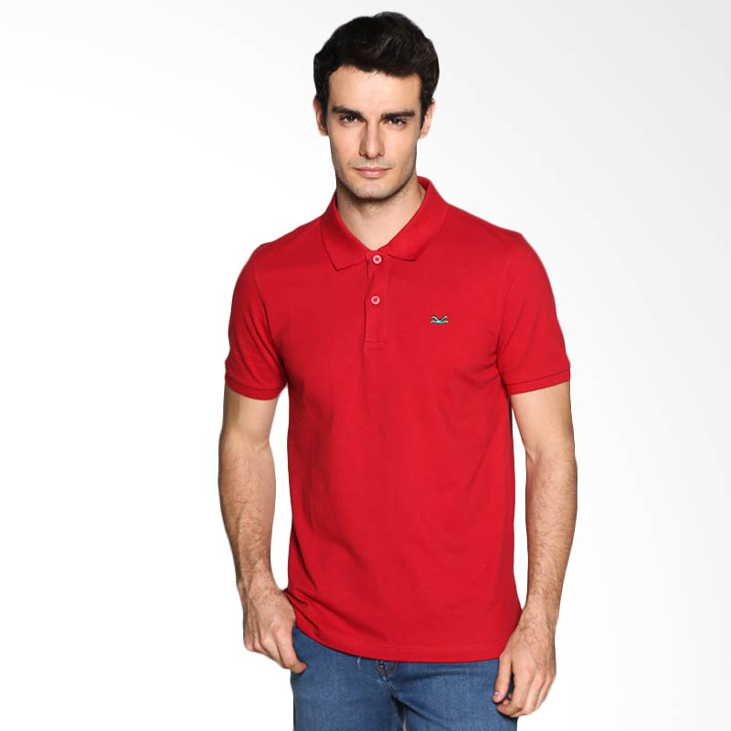 Carvil Man RED-35A Polo Shirt - Maroon Extra diskon 7% setiap hari Extra diskon 5% setiap hari Citibank – lebih hemat 10%