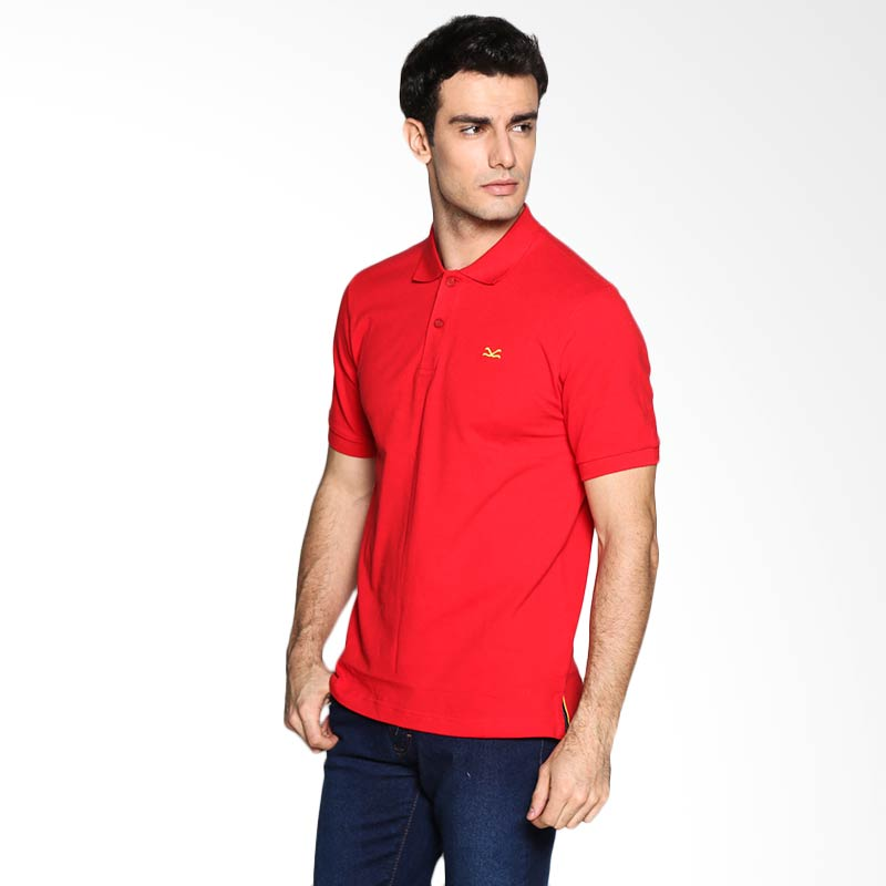 Carvil Man RED-40A Polo Shirt - Red Extra diskon 7% setiap hari Extra diskon 5% setiap hari Citibank – lebih hemat 10%