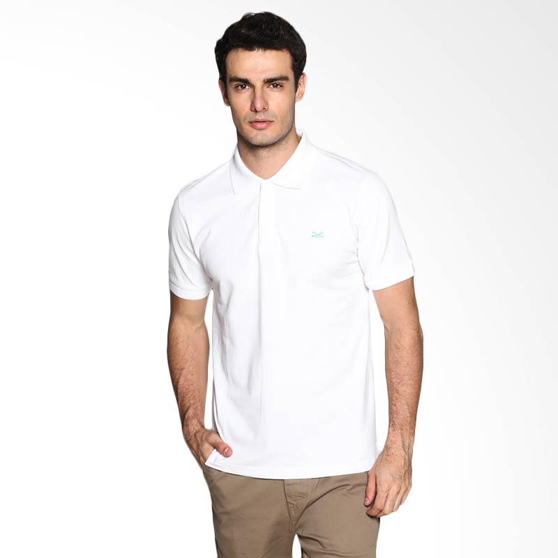 Carvil Man SNOW-01A Polo Shirt - White Extra diskon 7% setiap hari Extra diskon 5% setiap hari Citibank – lebih hemat 10%