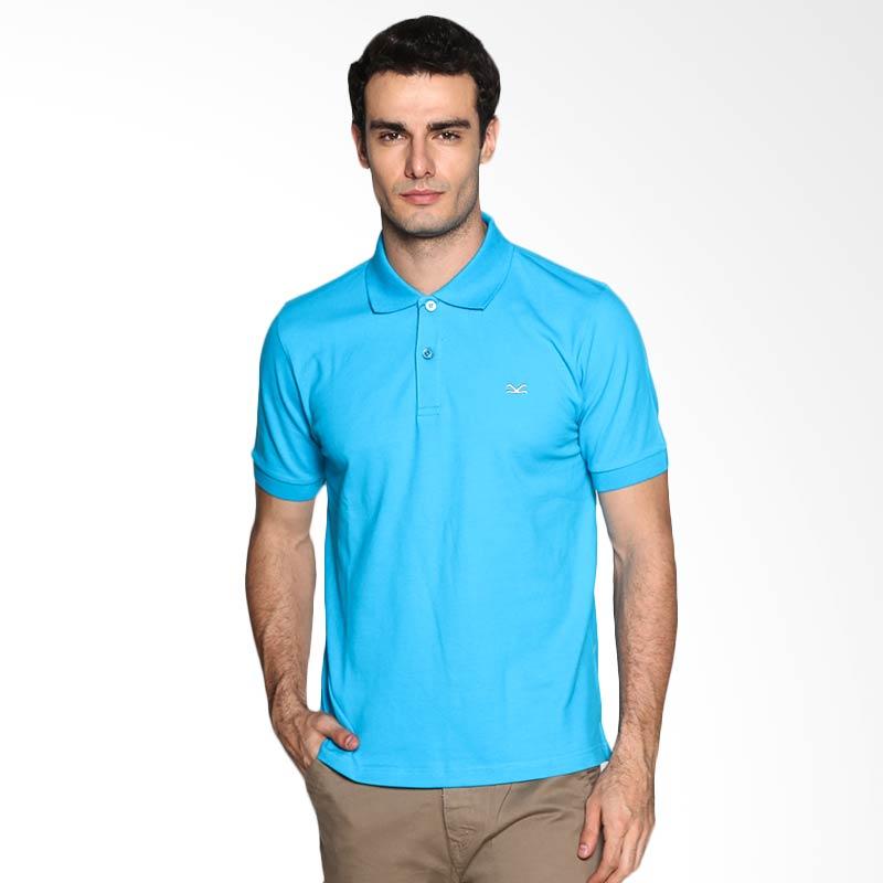 Carvil Man TUR-GTA Polo Shirt - Blue Turquise Extra diskon 7% setiap hari Extra diskon 5% setiap hari