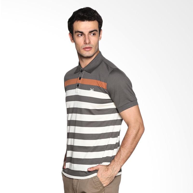 Carvil Stripe Man Misha-2B Kombinasi Polo shirt Extra diskon 7% setiap hari Extra diskon 5% setiap hari