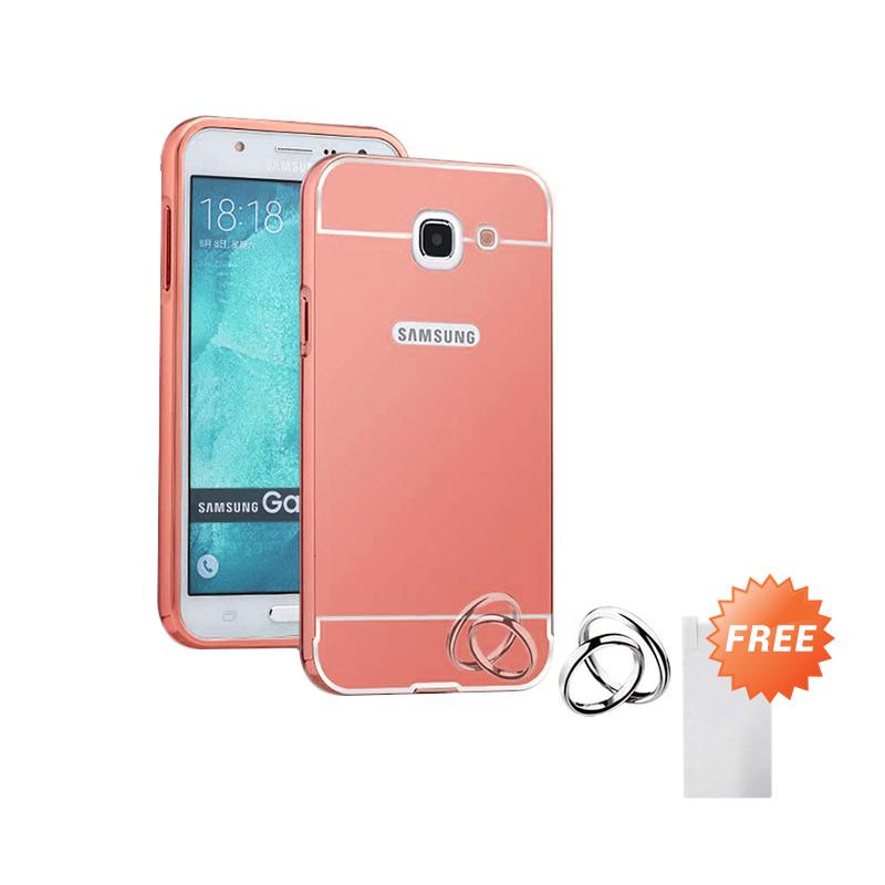 Case Aluminium Bumper Mirror Slide Casing for Samsung Galaxy…
