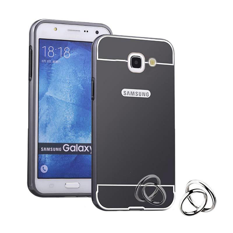 Case For Lg G3 Aluminium Bumper With Mirror Backdoor Slide Black Source · Best cases for