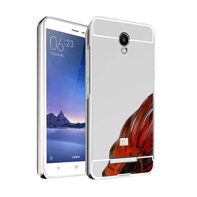 Jual Case Bumper Metal Sliding Backcase Casing for Xiaomi Redmi Note 2 - Silver Online - Harga & Kualitas Terjamin | Blibli.com