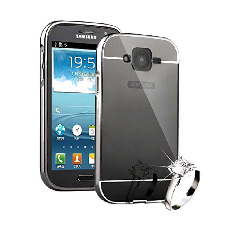 ... Case Samsung Grand Duos I9082 Bumper Metal Back Case Sliding Rose Source Case Bumper Mirror