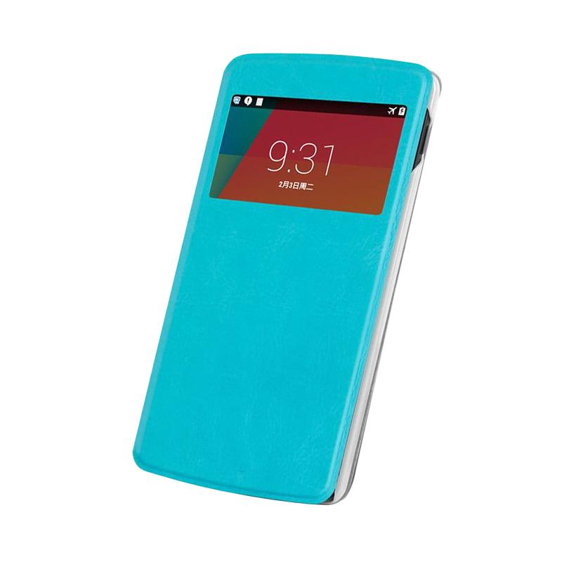 Case Flip Cover Casing for Asus Zenfone 5 - Blue Sea