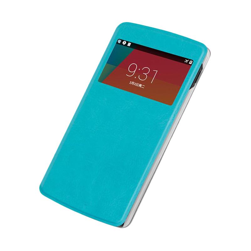 Case Flip Cover Casing for Oppo Joy R1001 - Blue sea