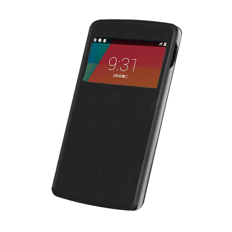 Case Flip Cover Casing for Samsung Galaxy Grand Duos i9082 - Black