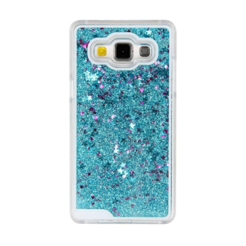 harga Case Water Glitter Softcase Aquarium Casing for Samsung J1 J120 2016 - Biru Muda Blibli