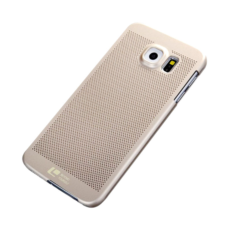 Loopee Air Casing for Samsung Galaxy S7 Edge - Gold
