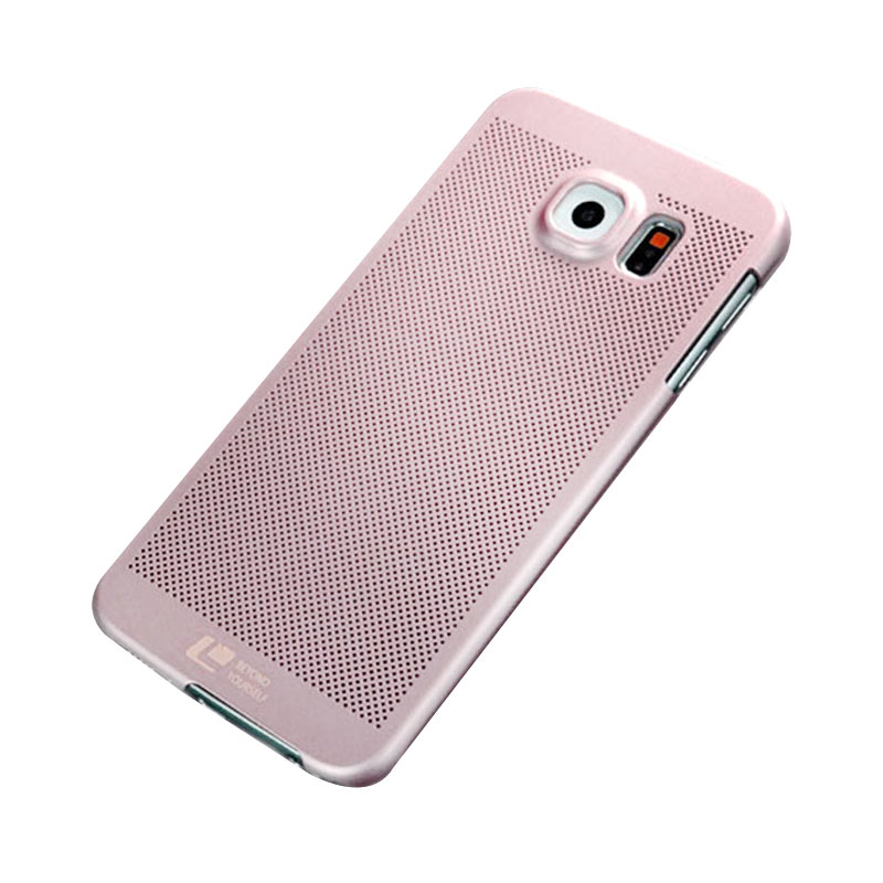 Loopee Woven Casing for iPhone 6 Plus/6S Plus - Rose Gold