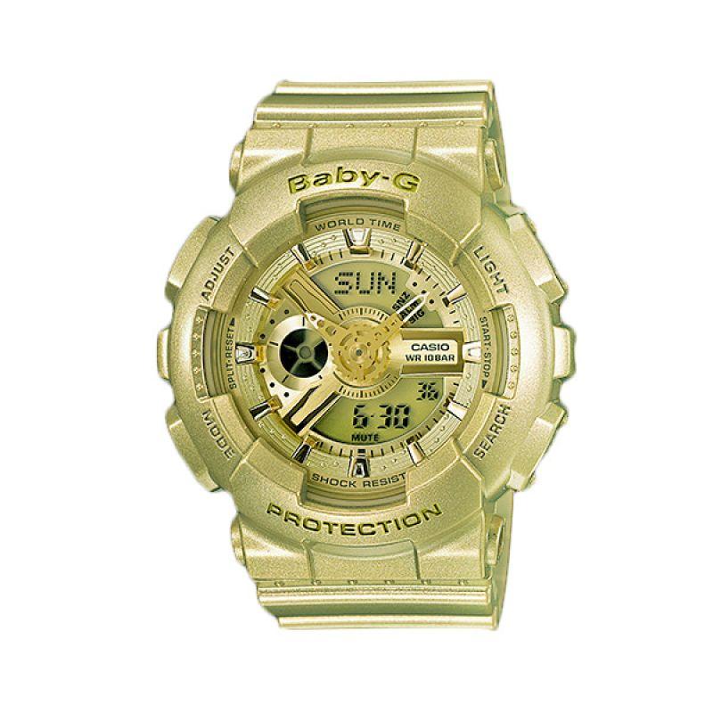 Casio Baby-G BA-111-9A Pale Gold Jam Tangan Wanita