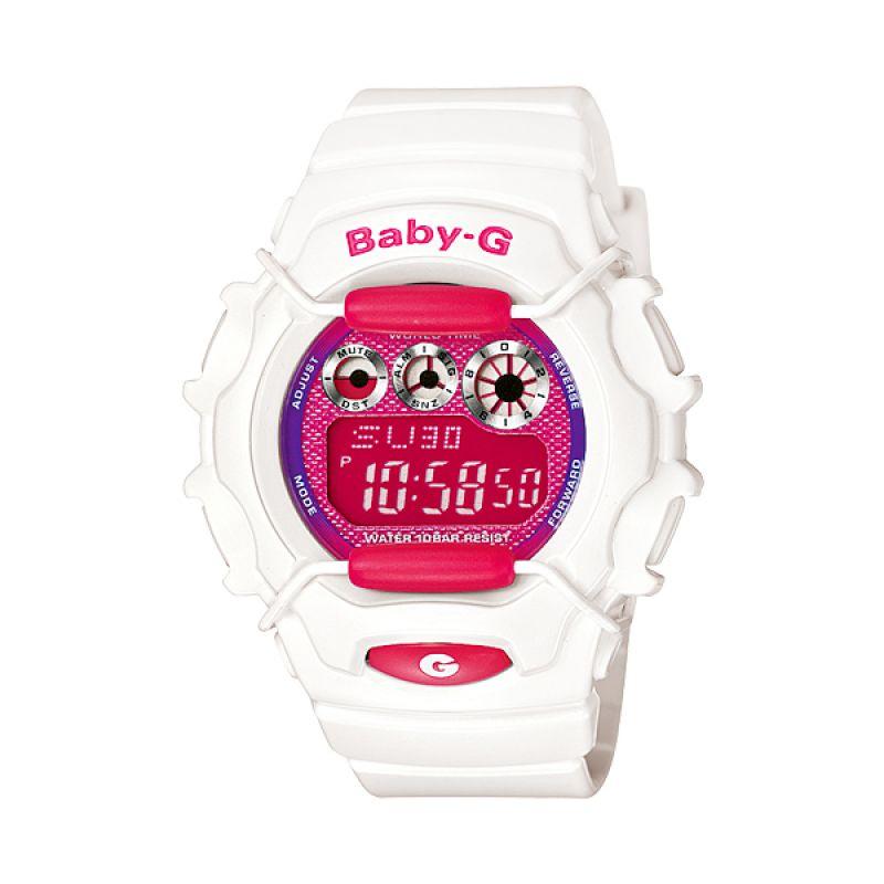 CASIO Baby-G BG-1006SA-7ADR Sports White Pink Jam Tangan Wanita