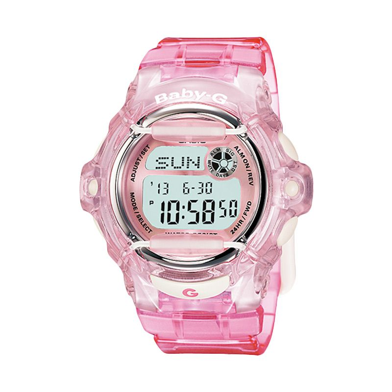 CASIO Baby-G BG-169R-4DR Sports Transparent Red Jam Tangan Wanita