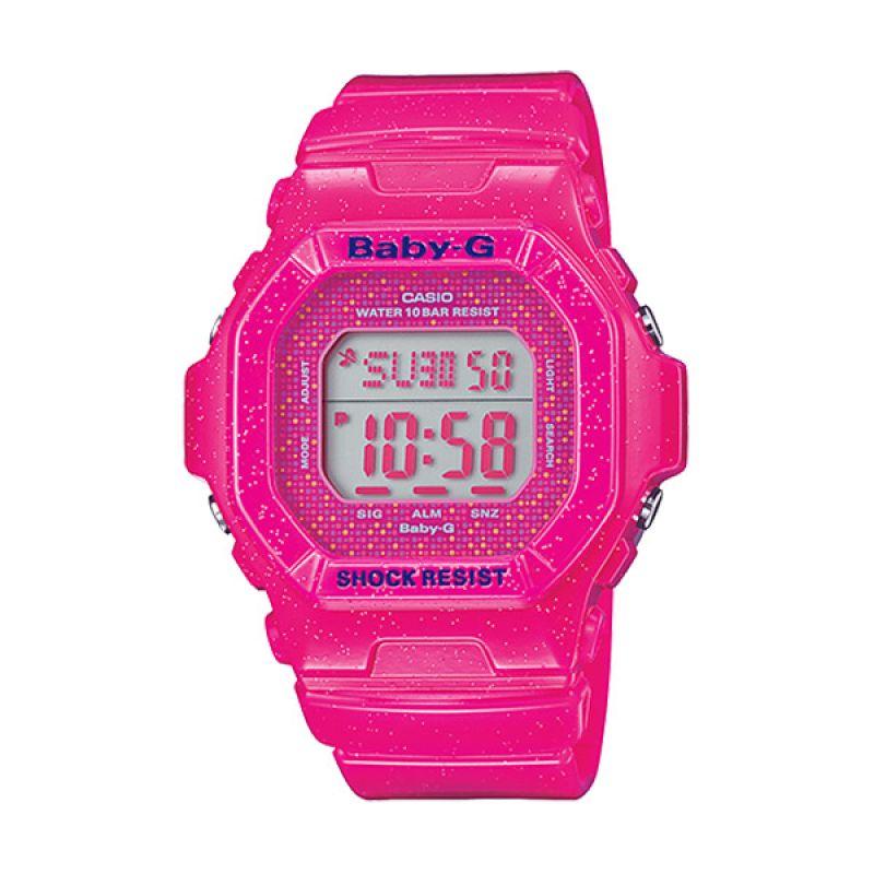 Casio Baby-G BG-5600GL-4DR Pink Jam Tangan Wanita