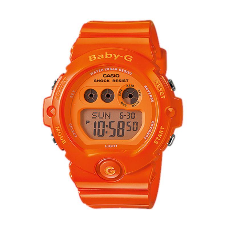 CASIO BABY-G BG-6902-4BDR Orange Jam Tangan Wanita