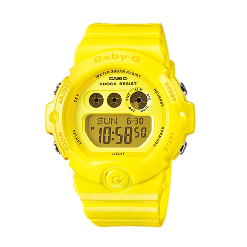 CASIO BABY-G BG-6902-9DR Neon Yellow Jam Tangan Wanita