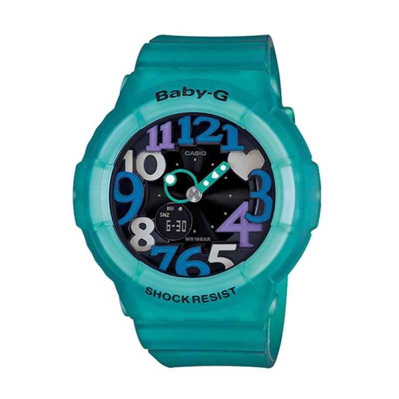 CASIO BABY-G BGA-131-3B Neon Blue Black Jam Tangan Wanita