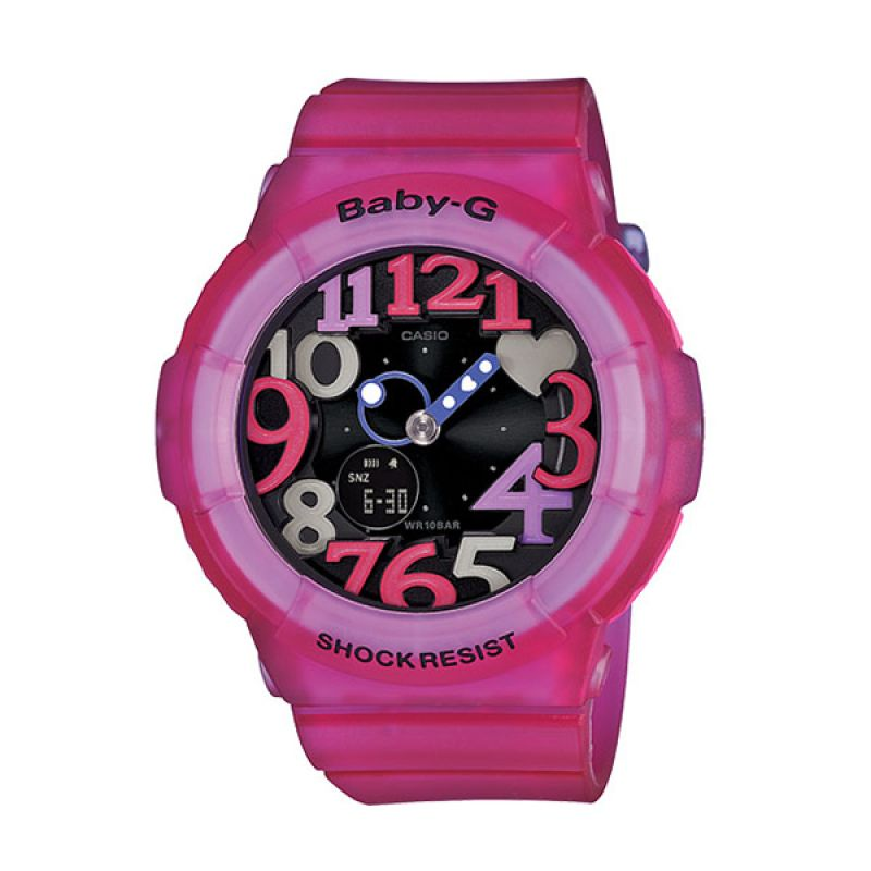 CASIO BABY-G BGA-131-4B4 Pink Black Jam Tangan Wanita