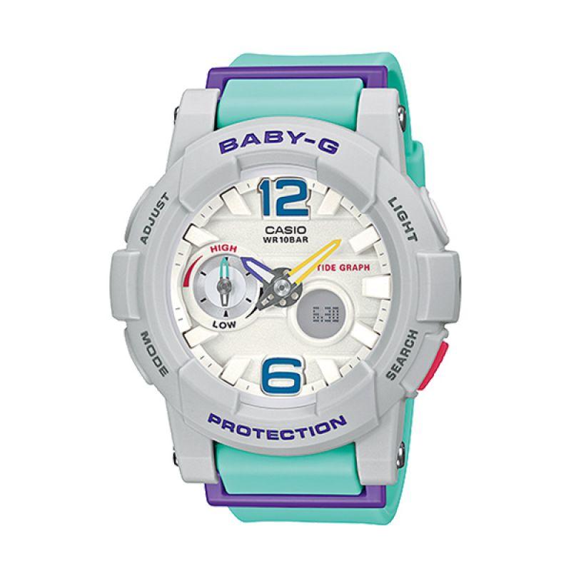 Casio Baby-G BGA-180-3B G-LIDE Blue White Jam Tangan Wanita
