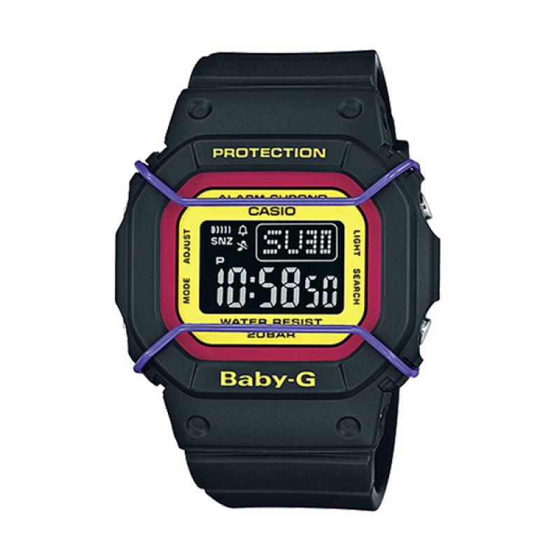Casio Baby-G BGD-501-1B Black Yellow Jam Tangan Wanita