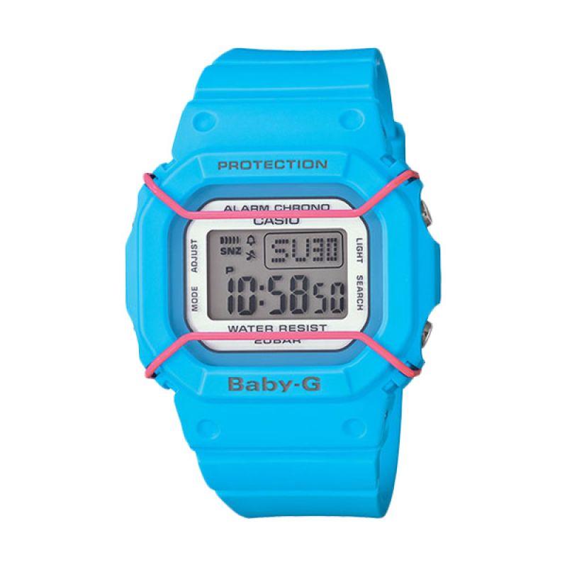 Casio Baby-G BGD-501-2DR Blue Jam Tangan Wanita
