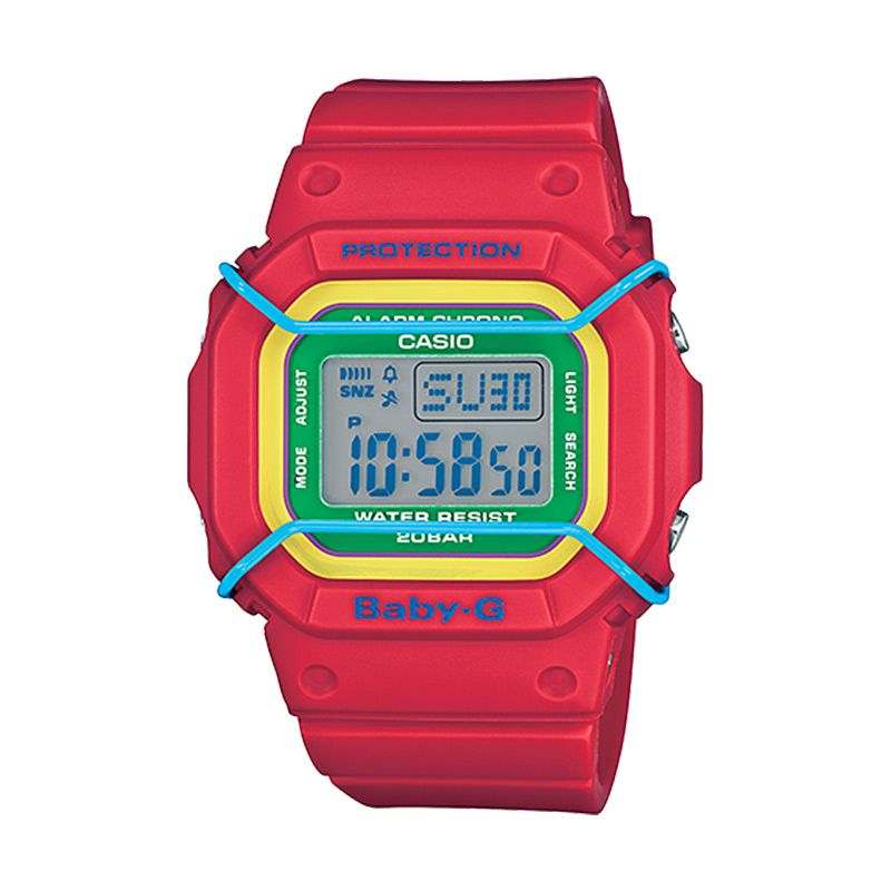 Casio Baby-G BGD-501-4B Sports Red Jam Tangan Wanita